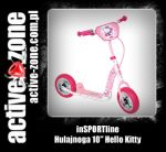 "inSPORTline Hulajnoga 10"" Hello Kitty - ACTIVE ZONE"